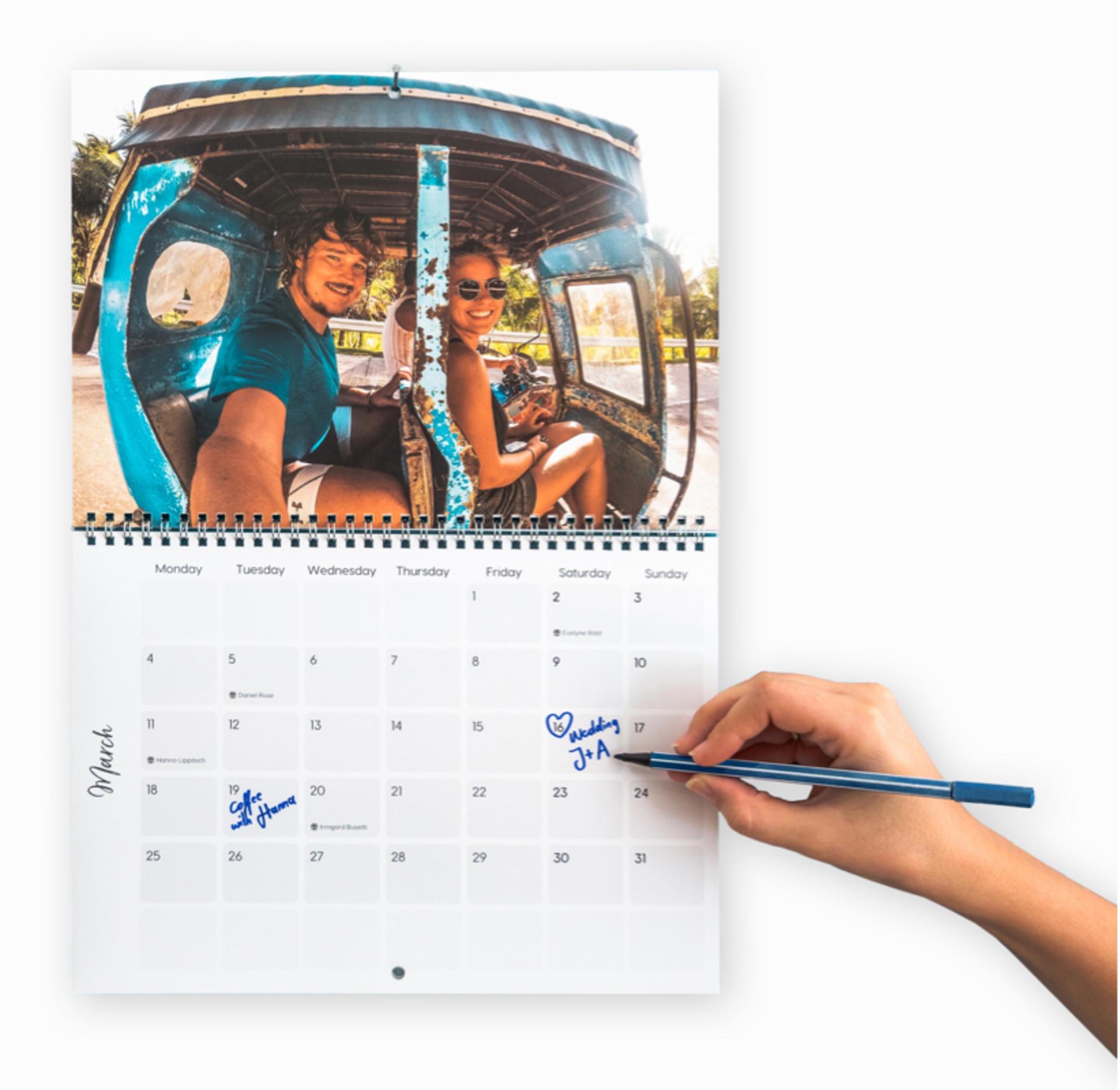 calendar-hand-writing