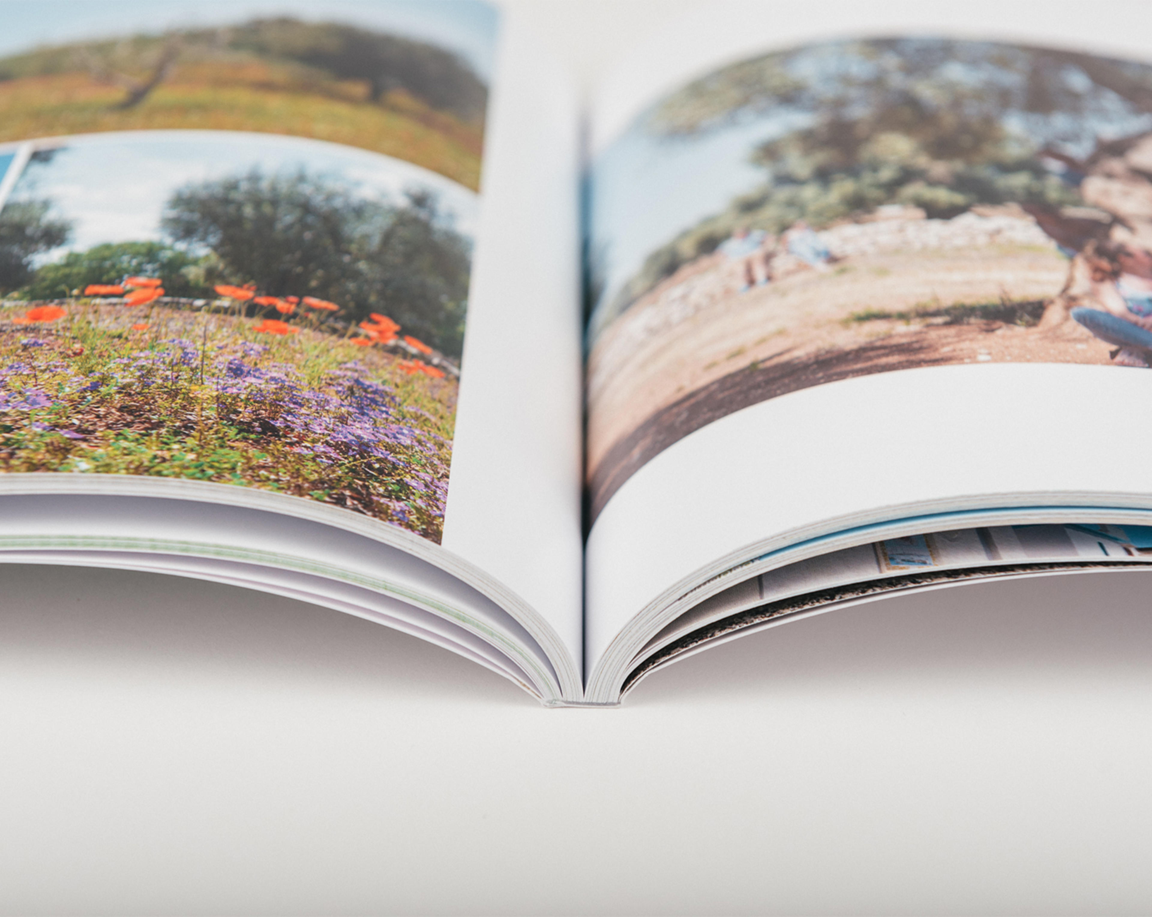 softcover open