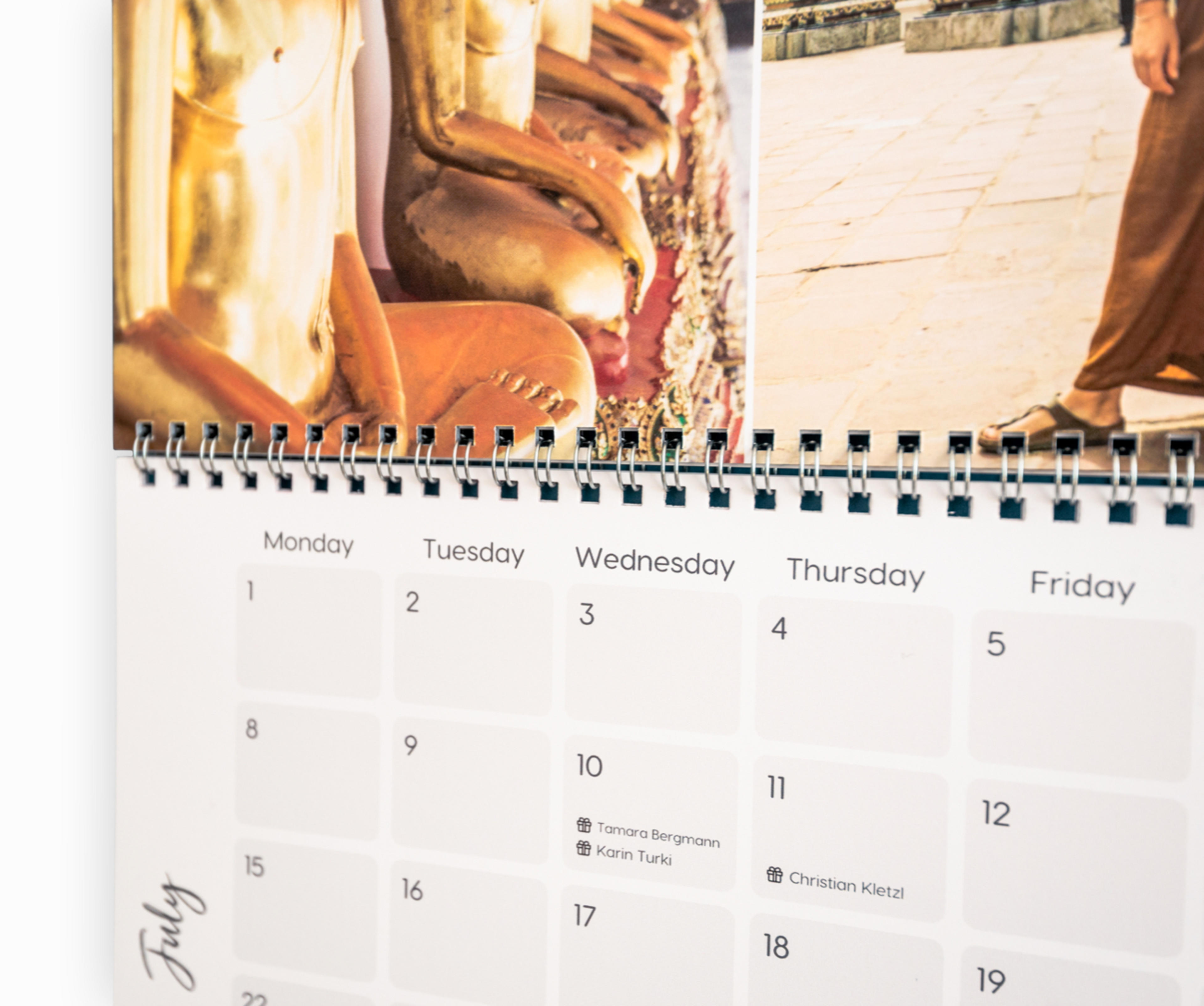 calendar zoom details