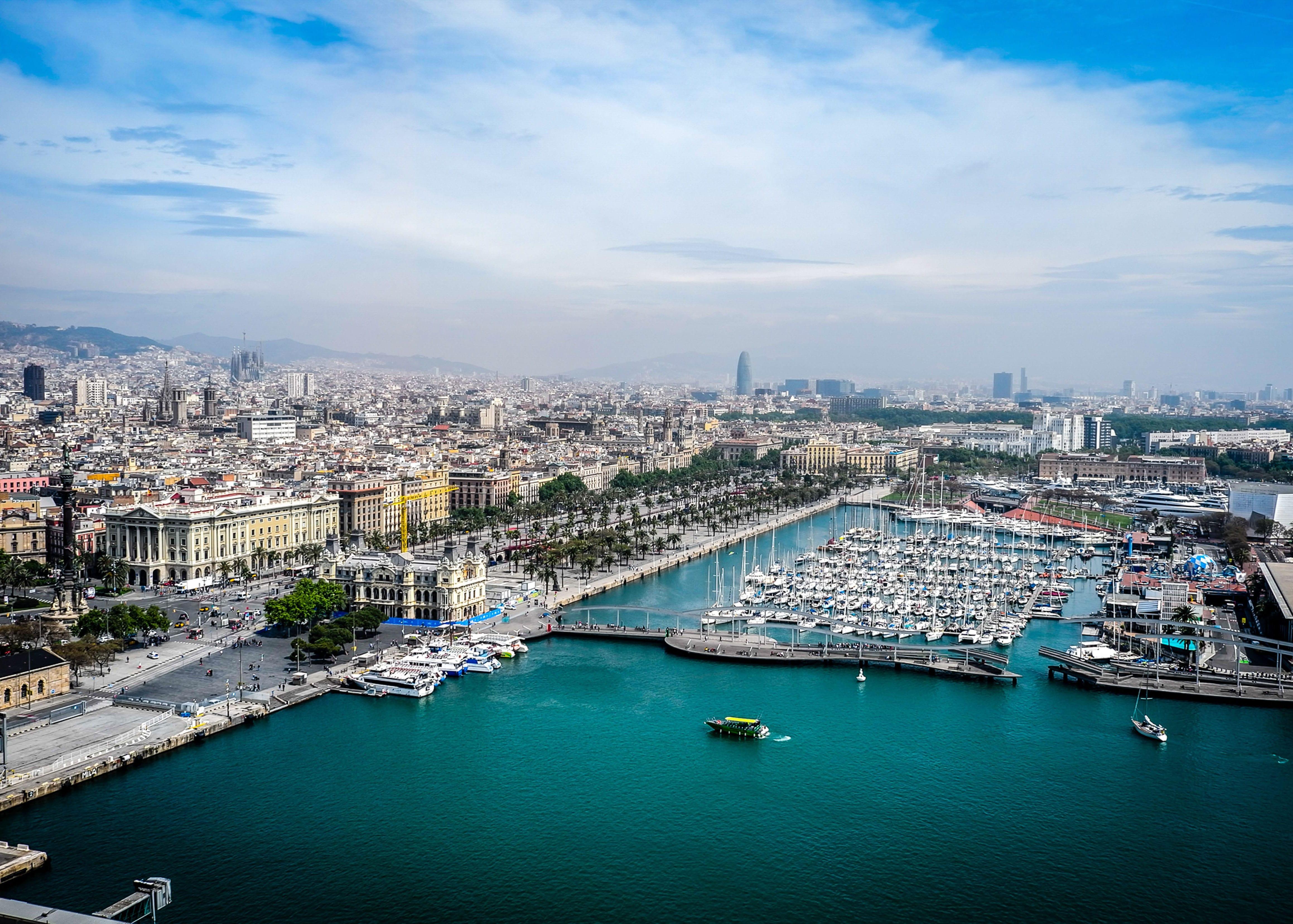 Barcelona-Hafen