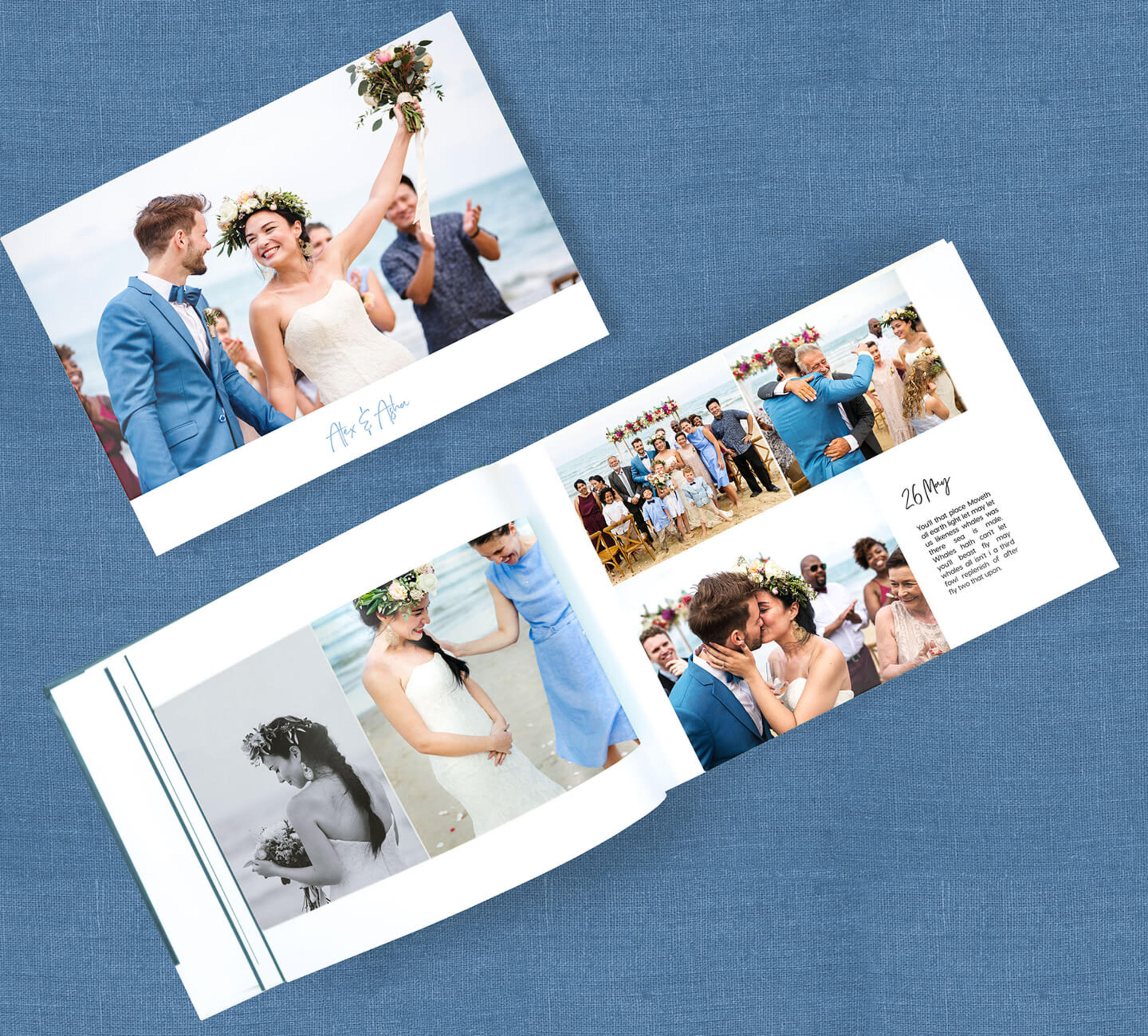 wedding-photo-book-open