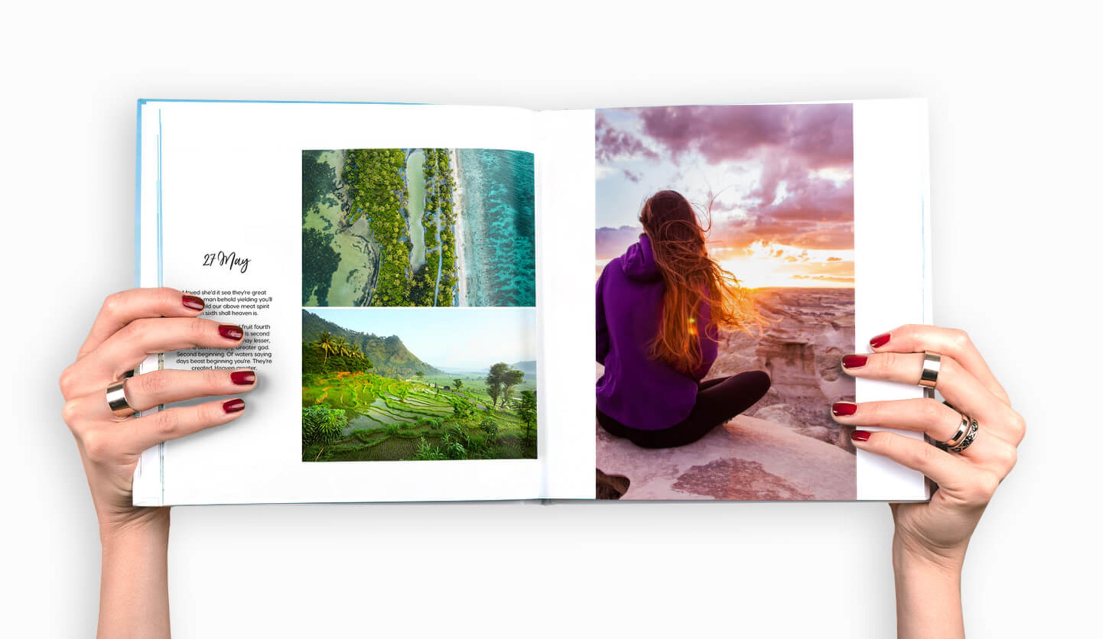 open-travel-photo-book