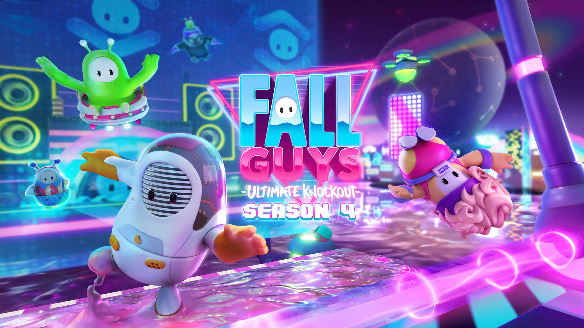 Fall Guys Ultimate Knockout Season 4 Out Now