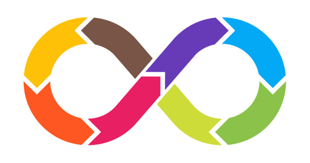 Colorful Infinity Logo