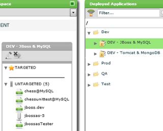 Deployment Environment for JBoss and MySQL