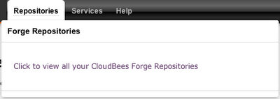 CloudBees Repository launcher