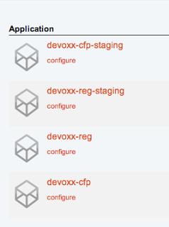 Devoxx applications