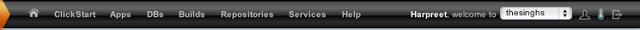 CloudBees Toolbar