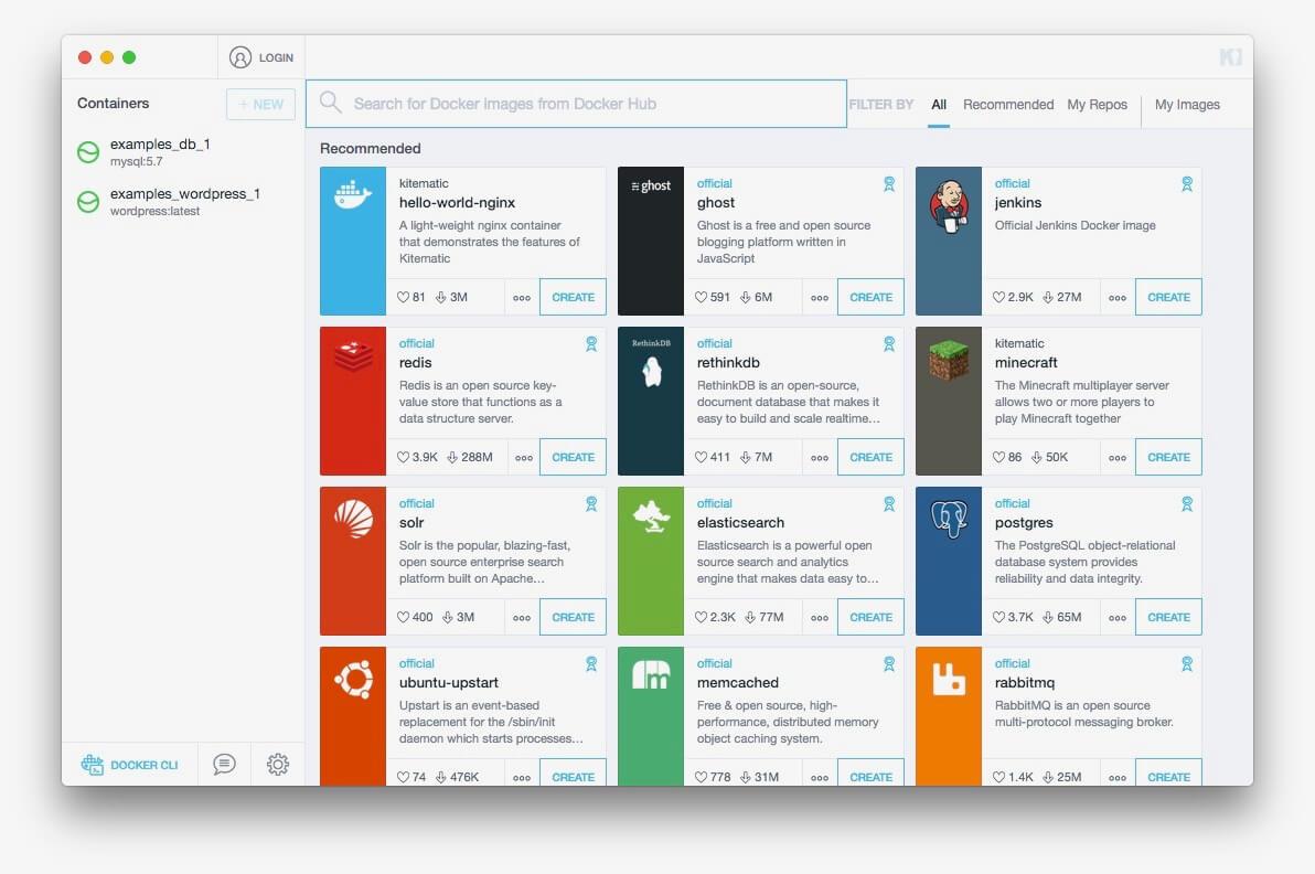 A Comparison of Docker GUIs   Cloudbees Blog