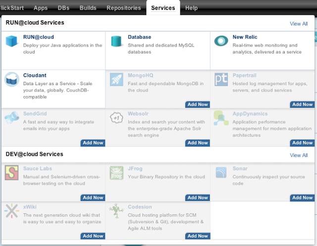 run@cloud services