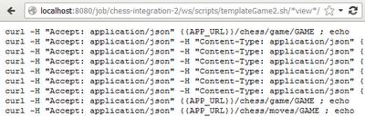 Using Tokenized Scripts