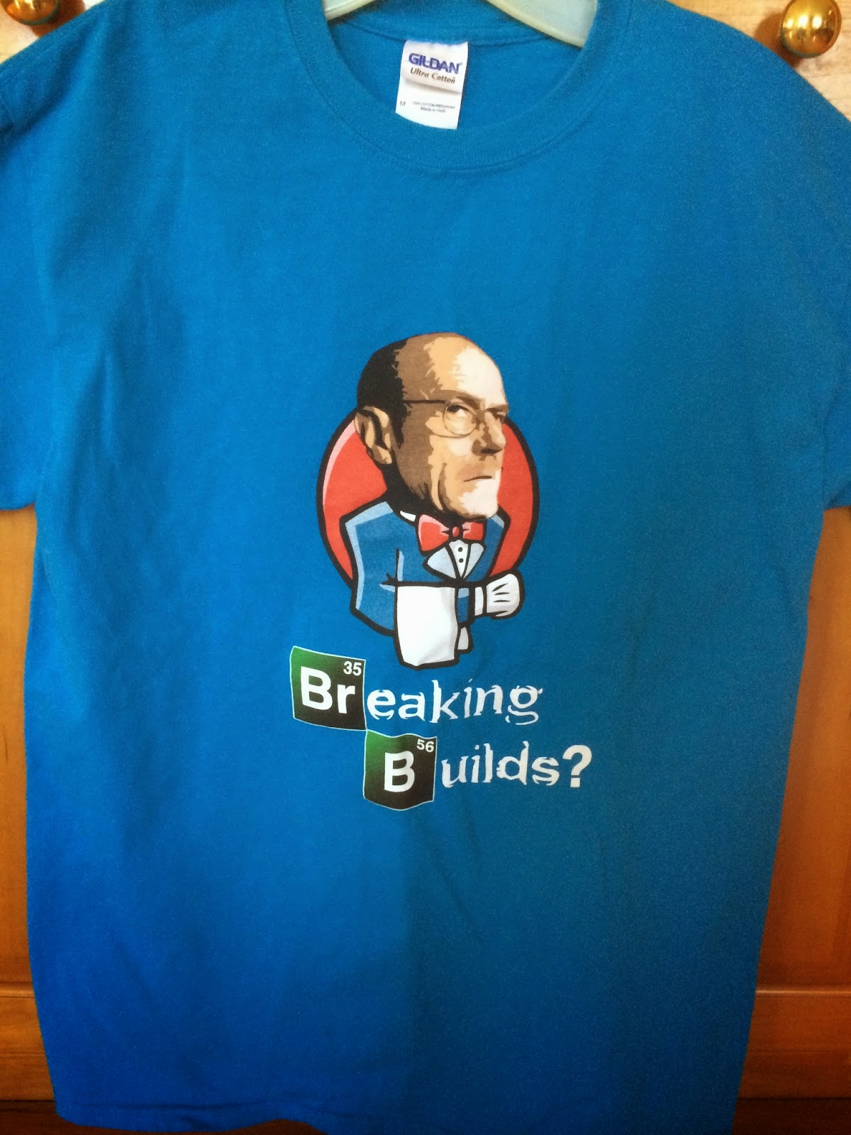 Breaking Builds T Shirt Front