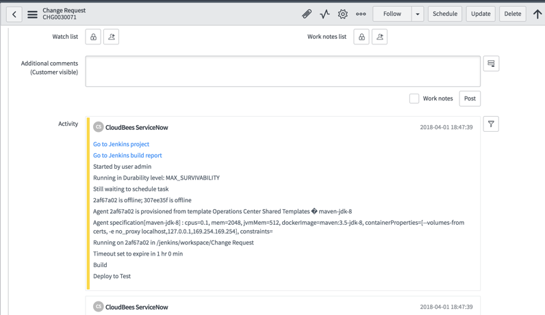 CloudBees for ServiceNow | CloudBees