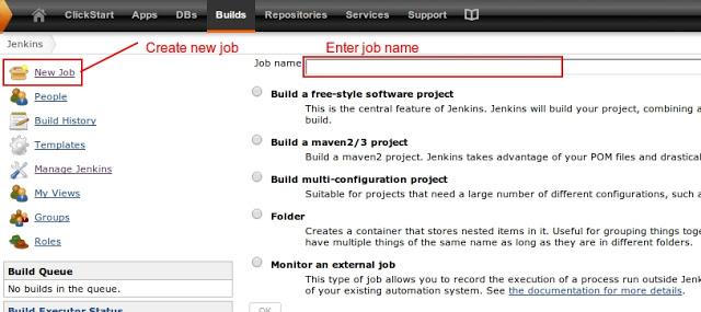 Jenkins builds