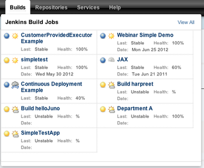 Jenkins build jobs