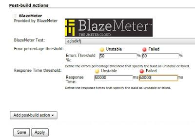 BlazeMeter task