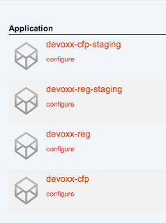 Devoxx applications
