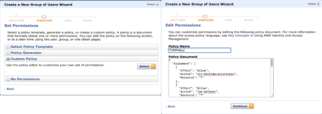 IAM User and Group Configuration