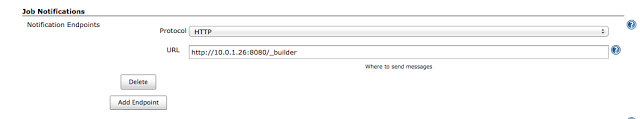 Jenkins build notifications