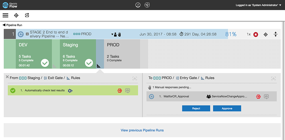 Audit and Compliance Reporting screenshot