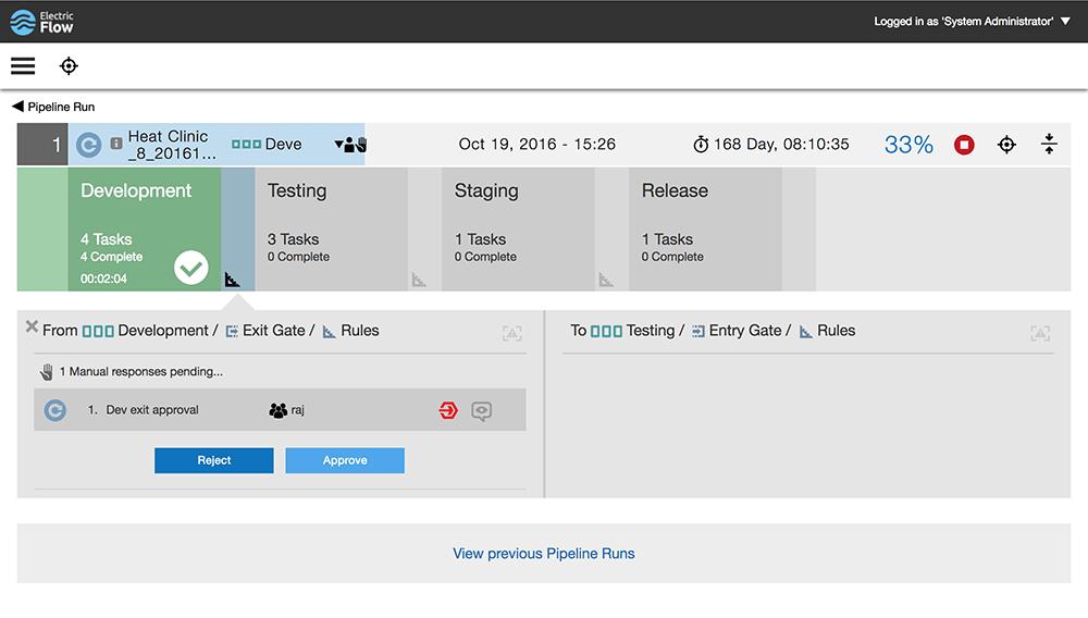 Compliance screenshot