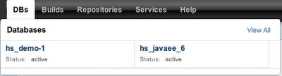 Deployed database