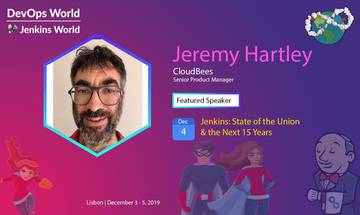 Jeremy Hartley DevOps World Jenkins World 2019 Lisbon