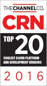 CRN Top 20 Coolest Cloud Platform and Development Vendors 2016