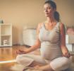 Graviditetsyoga: ge dig ut på mattan