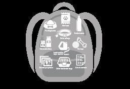 Go bag for emergencies