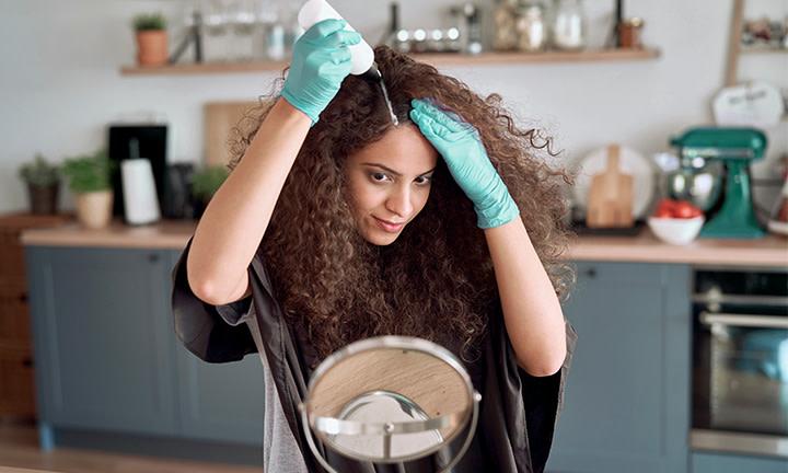 Haarefärben in der Schwangerschaft