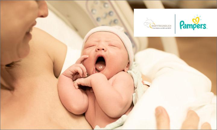 Pampers unterstützt BABYFREUNDLICH