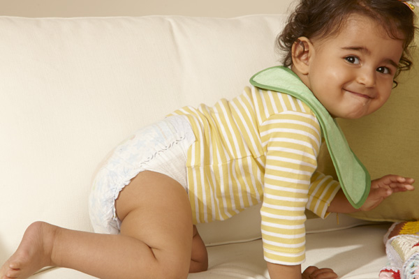 Pampers: Sicher für glückliche, gesunde Babys entwickelt