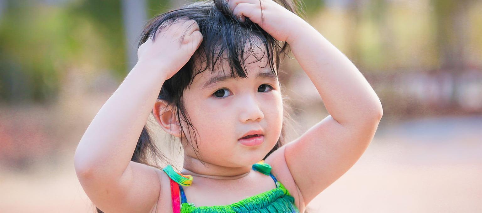 Läuse bei Kindern und Babys