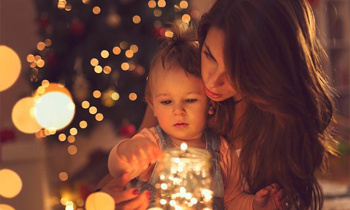 Silvester mit Kind