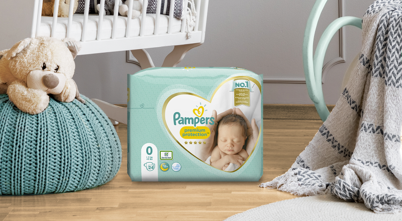 Pampers® Premium Protection™ New Baby