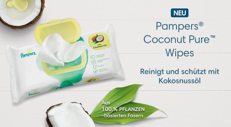 Pampers® Coconut Pure Feuchttücher