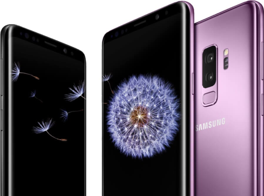 Samsung's new line of Galaxy S9 devices including the S9 and S9+