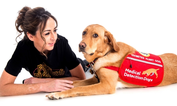 So far, Medical Detection Dogs have trained over 130 amazing canines for people with life-threatening conditions