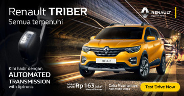 Renault Triber test drive (expired December 7)