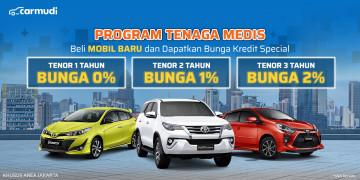Promo Toyota untuk tenaga medis