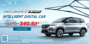 Wuling Almaz RS Intelligent Digital Car Carmudi Indonesia(Until 15 April 2021)