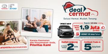 Toyota Deal Cermat Carmudi Indonesia