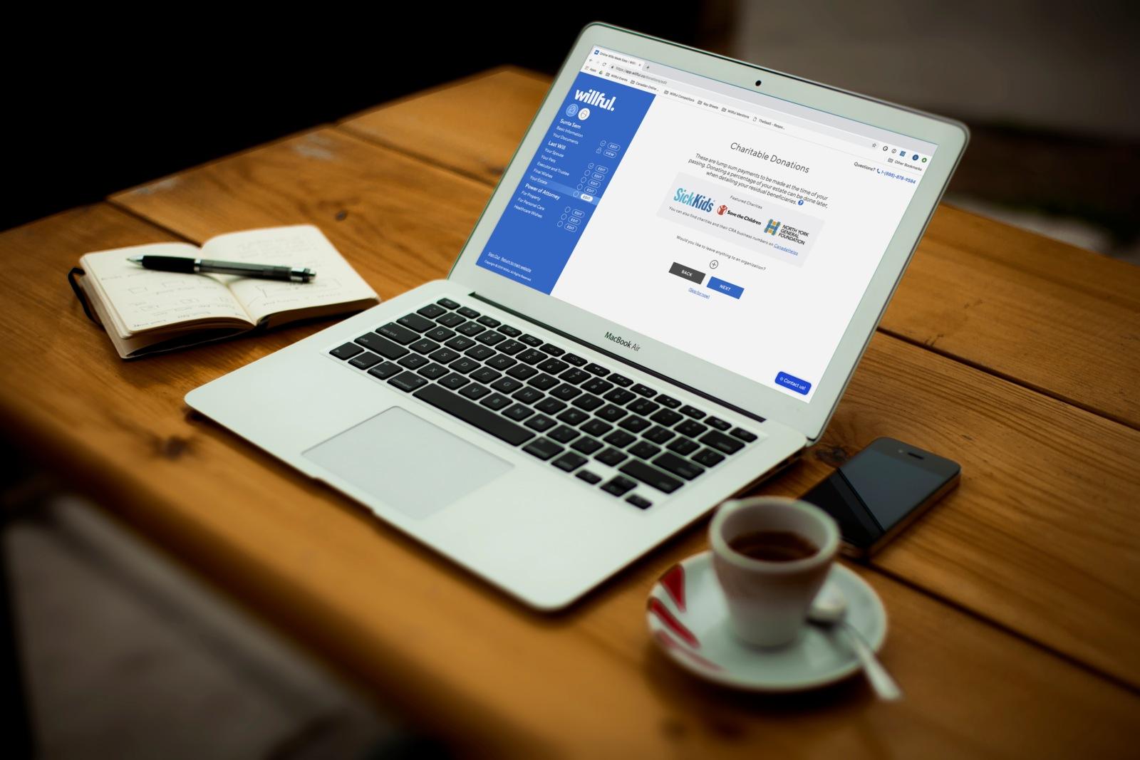 Online Legal Wills - Willful Online Estate Planning Tool