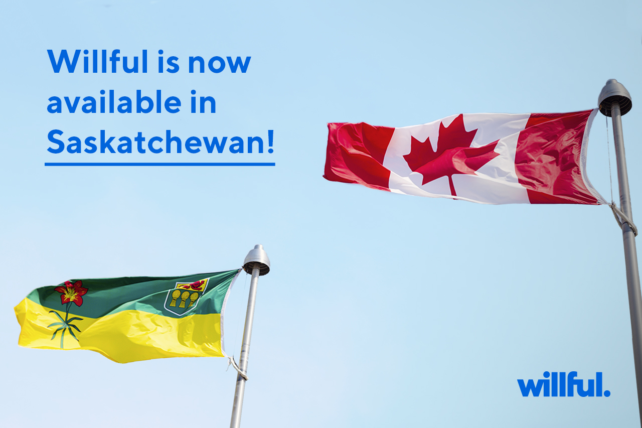 Willful Saskatchewan Announcement
