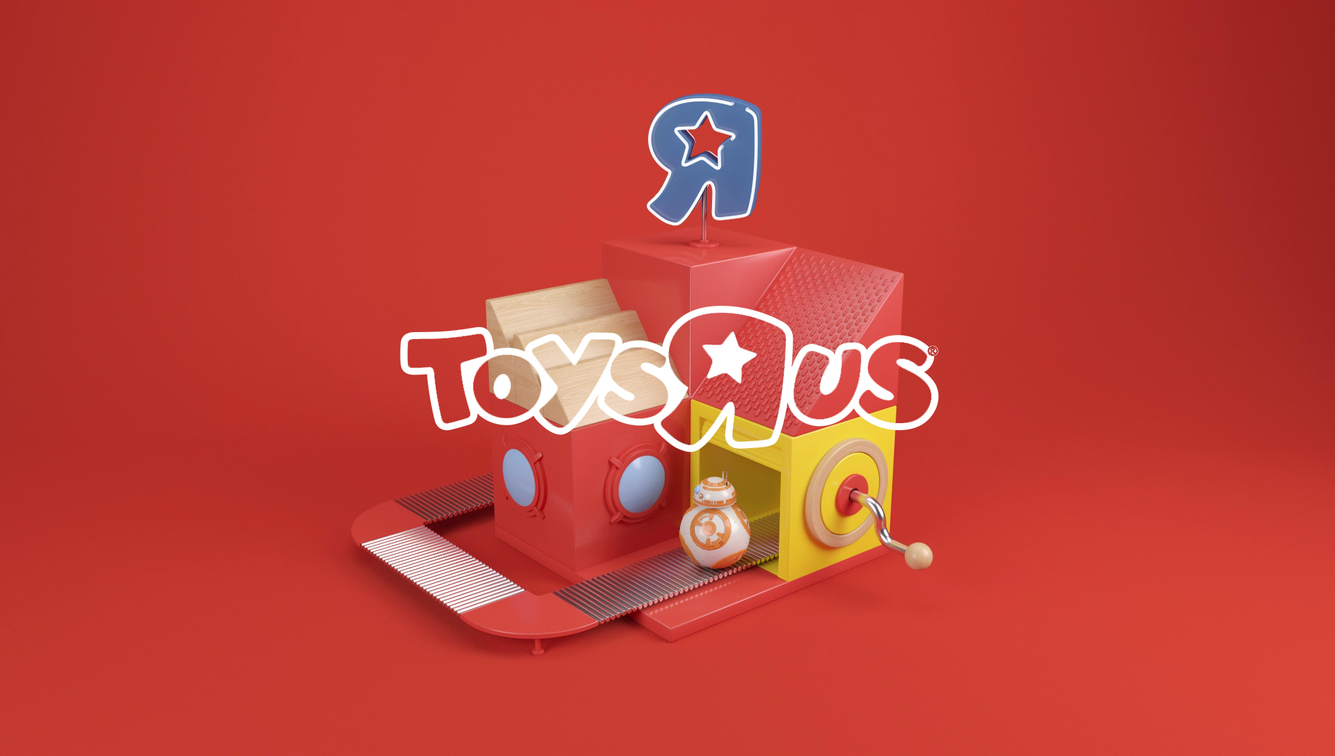 "Toys""R""Us toy factory designed by Lippincott."