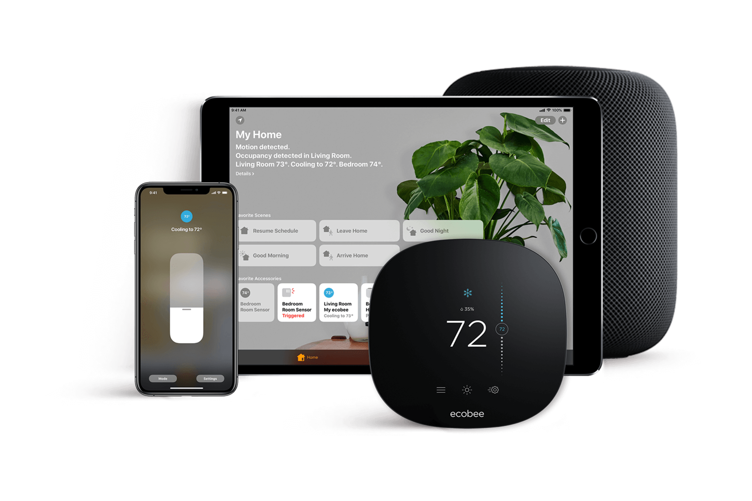 ecobee smart home products.