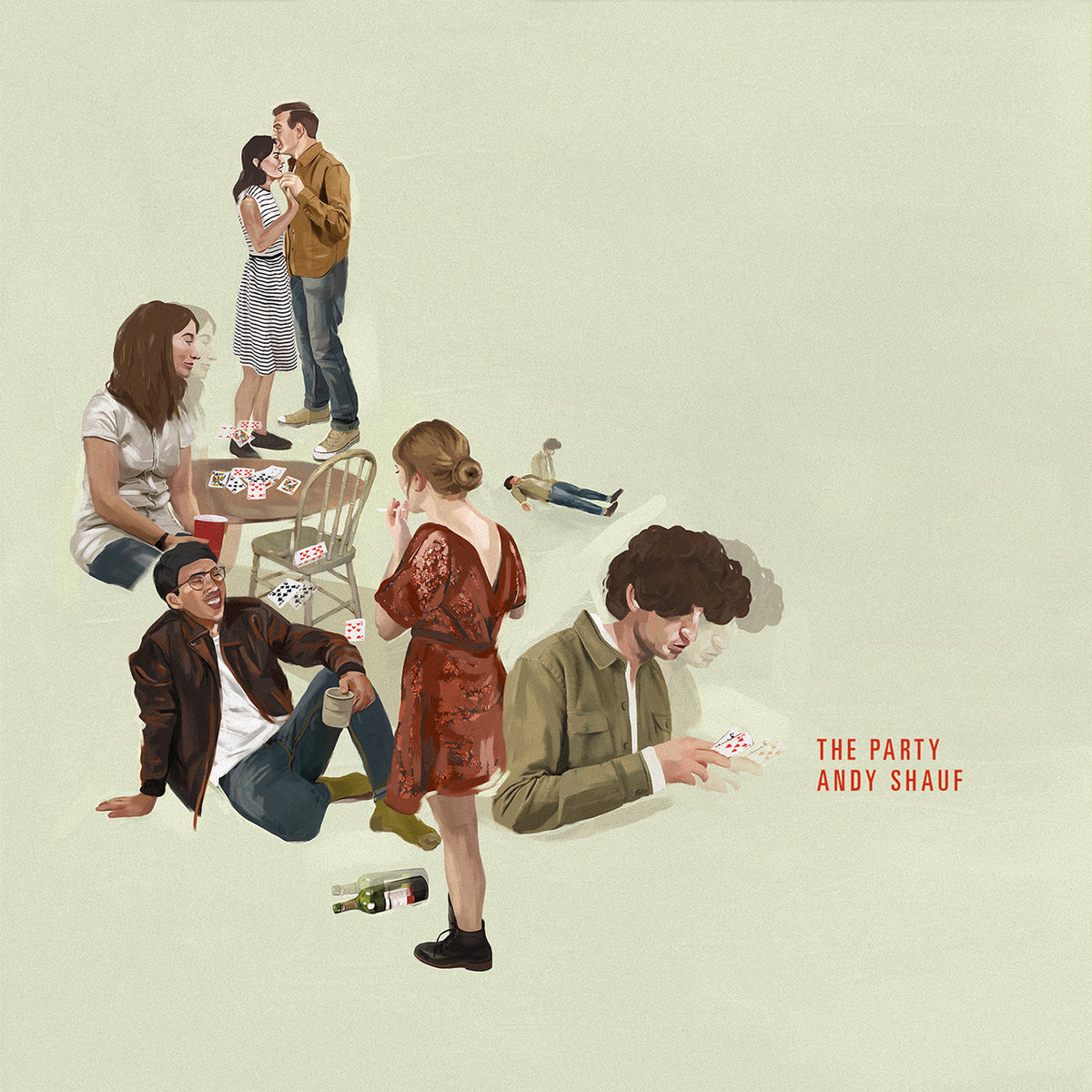 "Official album artwork of ""The Party"" by Andy Shauf."