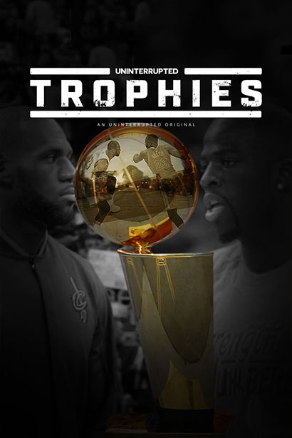 Trophies - LeBron James & Draymond Green
