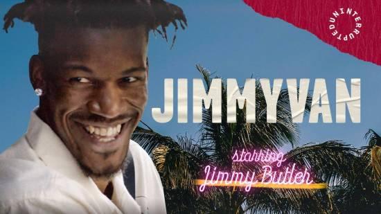 Jimmy Butler Making Minivan Moves